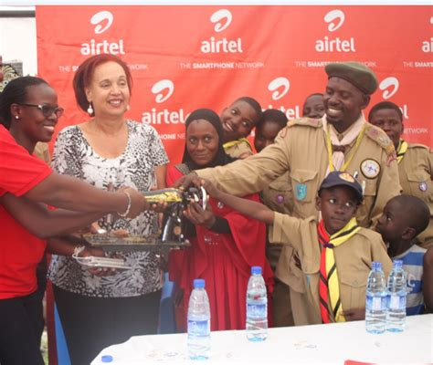 Airtel Uganda funds youth with disabilities   CampusBee