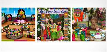 Sweet Sixteen Backyard Party Ideas Luau Party Supplies Hawaiian Luau Decorations Party City