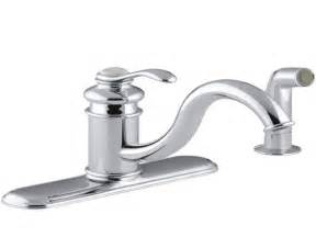 How To Fix Kohler Kitchen Faucet by Kohler Kitchen Faucet Repair Kitchen Ideas