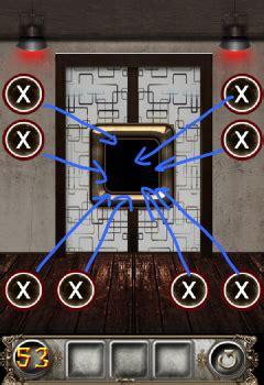 100 Doors Floor 53 by The Floor Escape Level 53 Walkthrough