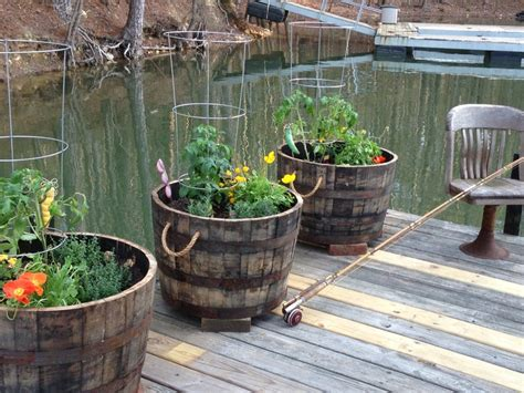 37 best images about whiskey barrel ideas on pinterest