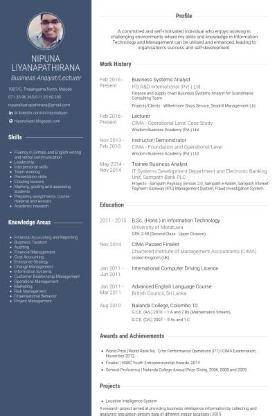 Business Analyst After Mba by Systems Analyst Resume Sles Visualcv Resume Sles