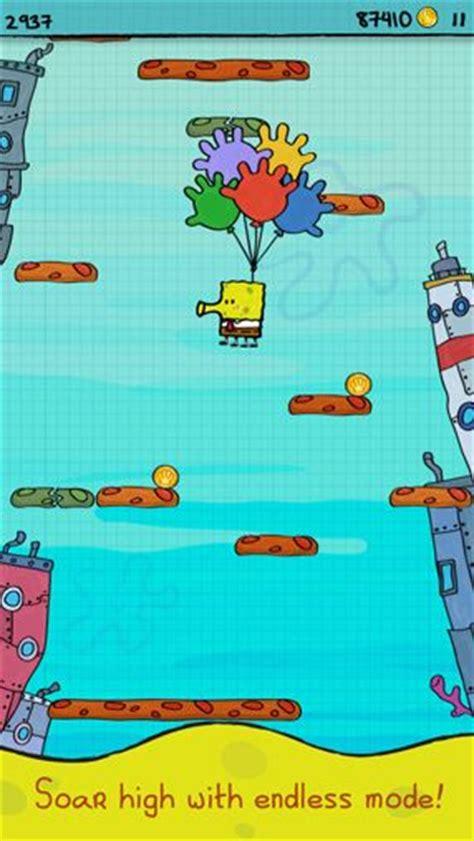 real doodle jump doodle jump sponge bob square iphone free