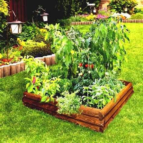 Raised Bed Vegetable Garden Layout Raised Bed Vegetable Garden Layout Outdoor Decorations