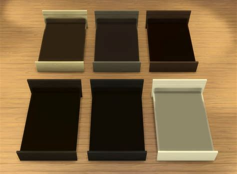 4 bed frame my sims 4 modpod teendreams bed frames by plasticbox