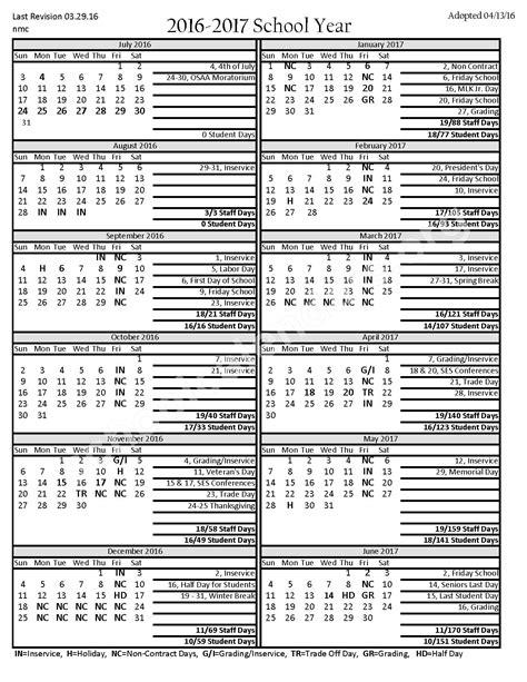 Canyons School District Calendar Santiam School District Calendars Oregon