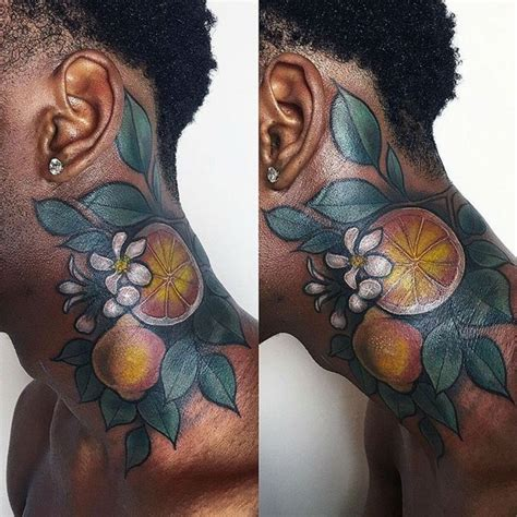 colored tattoos on dark skin 25 best ideas about skin on