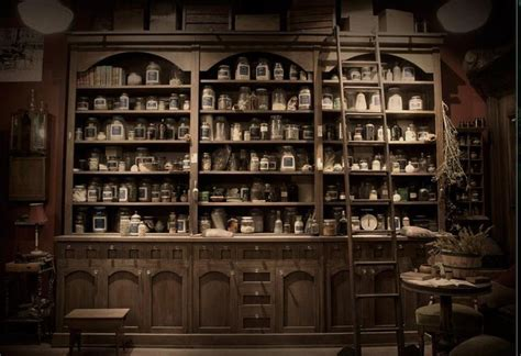 Open Kitchen Shelves Decorating Ideas apothecary shop from quot grimm quot pinterest shops