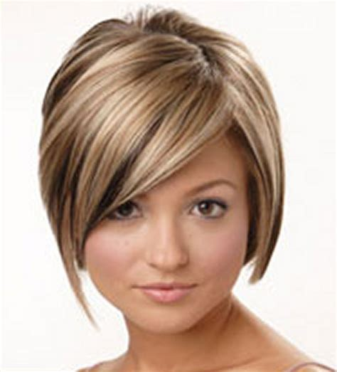 rounded hairstyles short hairstyle round face