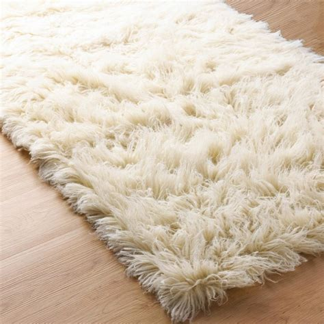 flokati rug superior flokati sheepskin rug rugs by shades of light