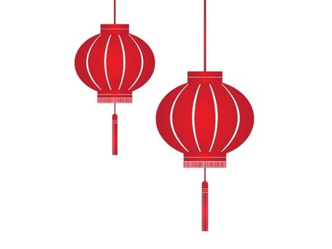 Diwali Home Decoration Lights by Red Lantern Icons Traditional Design Style Free Vector In