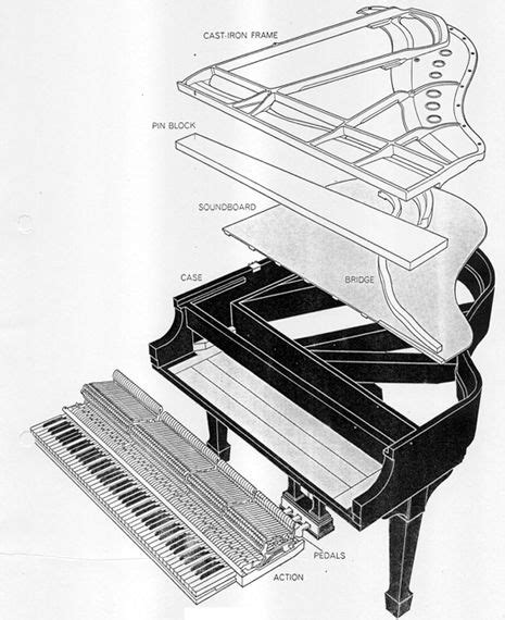 inside a piano diagram 17 best images about disassembly products on