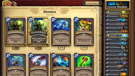 shaman deck ten ton hammer deck of the week 8 shaman elemental deck