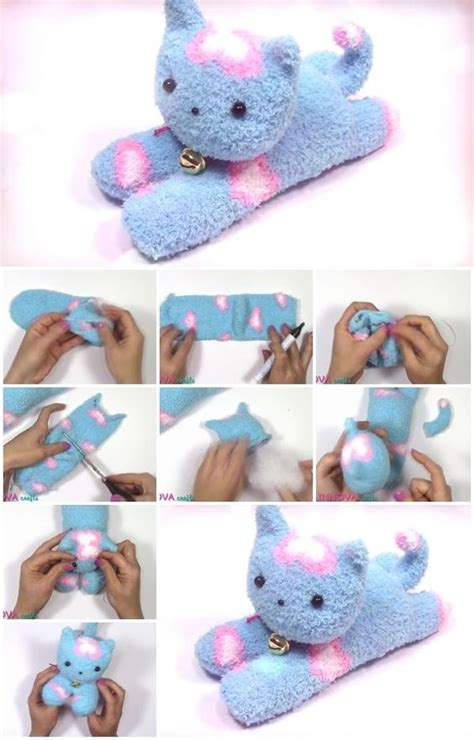 easy sock animals tutorial cutest collection of sock animals the whoot