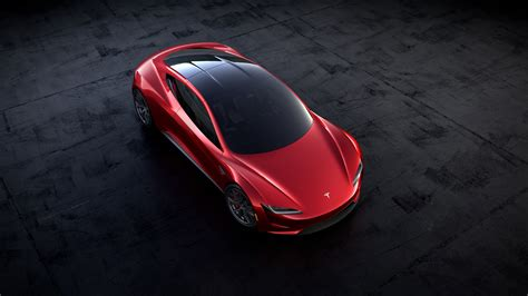 tesla roadster 2019 2020 tesla roadster top view roof hd wallpaper latest