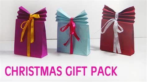 simple christmas gift bag making of christmas gifts