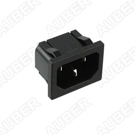 120v 15a receptacle panel mount iec 320 c14 inr1 1