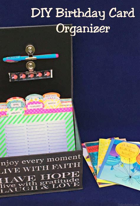 hallmark make your own cards birthday card organizer gangcraft net