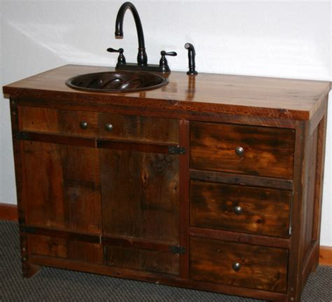 Rustic Vanities For Bathrooms Rustic Bathroom Vanities Bathroom Designs In Pictures