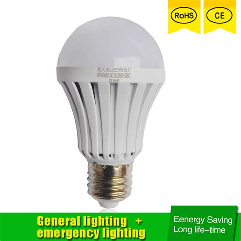 Lu Led Bulb Emergency 5w led emergency light e27 5w 7w 9w led bulb rechargeable battery lighting l for outdoor