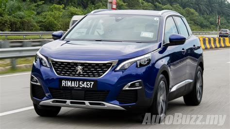 peugeot 3008 2017 black all new peugeot 3008 launched in malaysia 2 variants from