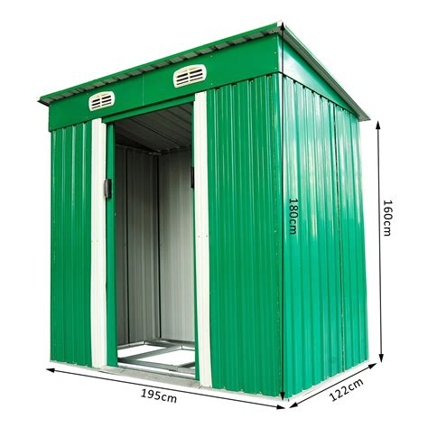 Garden Tool Storage Shed by Metal Garden Tool Storage Shed Ideal Home Show Shop