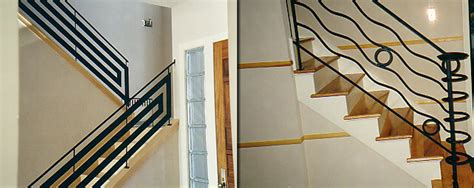 Metal Banister by Railings For Stairs Interior Iron Images