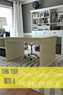 Turn Dining Room Into Office Dining Room Turned Home Office Details Southern State Of