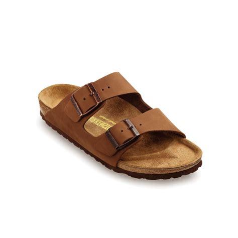 birkenstock designer sandals birkenstock arizona two band nubuck sandals in brown for
