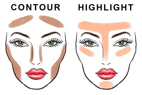Where To Highlight Step By Step Guide Contour And Highlight Your
