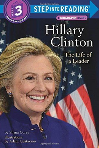 hillary clinton biography book review hillary clinton the life of a leader step into reading