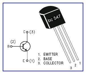 funzionamento transistor bc547 dummy load