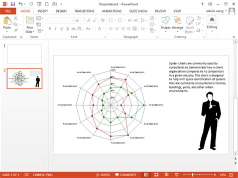 spider diagram template powerpoint spider chart templates for powerpoint