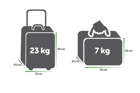 airline baggage allowances travel nation