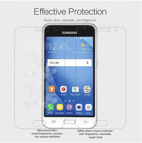 Samsung Galaxy J1 2016 Nillkin High Level Screen Guard nillkin clear anti fingerprint protective for