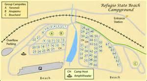 map of refugio el capitan and refugio cing