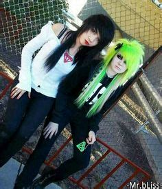2014 cant find blonde euronext extensions yahooanswers 1000 images about emo punk goth scene hair cuts on