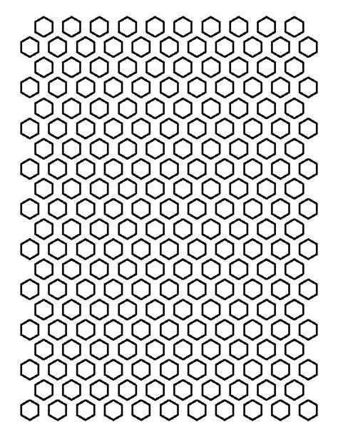 2 Inch Hexagon Pattern Use The Printable Outline For - 1 2 inch hexagon pattern use the printable outline for