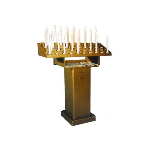 candelieri votivi candeliere votivo elettrico con candele ad interruttore