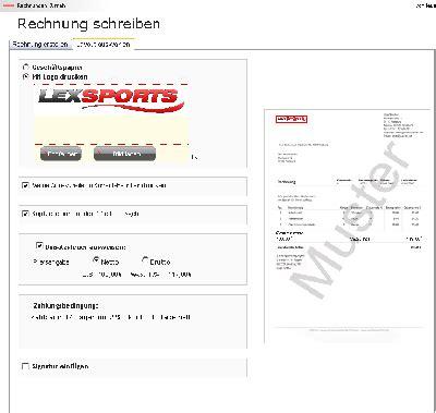 Online Drucken Auf Rechnung by Rechnung Online Schreiben Und Ausdrucken Kostenlos