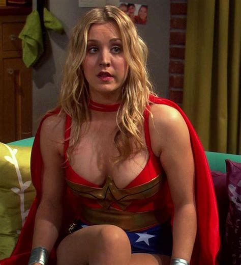 why did penny from big bang theory cut her hair kaley cuoco bikini kaley cuoco cleavage wonder woman