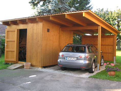 carport aus holz carport wachter holz fensterbau wintergarten
