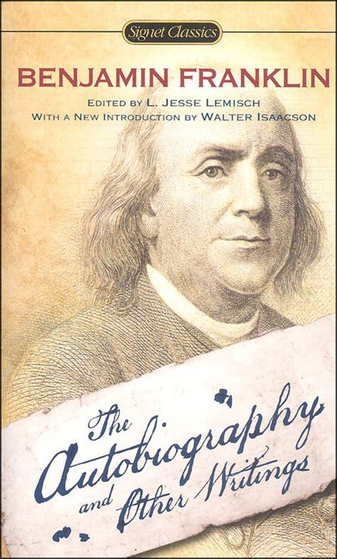 benjamin franklin biography buy ben franklin autobiography other writings 038062