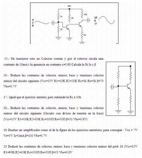 transistor fet concepto transistor fet ejercicios 28 images analisis de transistores problemas de electr 243 nica