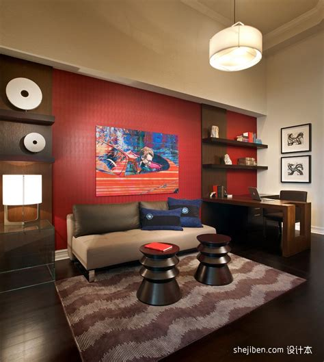red house design studio jingdezhen 最新小书房装修效果图大全2013图片 土巴兔装修效果图