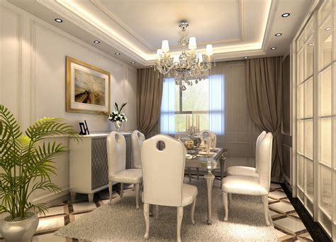 Interior Design For Dining Room by European Neo Classical Dining Room Door Design 3d House