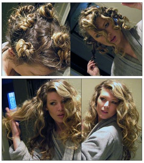 down hairstyles without heat how to curl your hair without heat