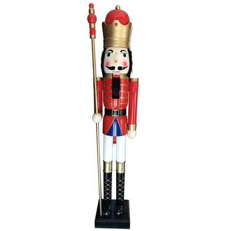 large nutcracker soldier large wooden nutcrackers shop collectibles daily