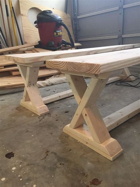 diy x bench diy x brace bench free easy plans rogue engineer