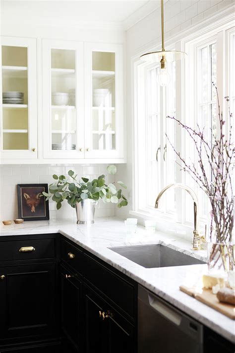 kitchen cabinets glass front 7 ideas to make the most of a small kitchen swoon worthy